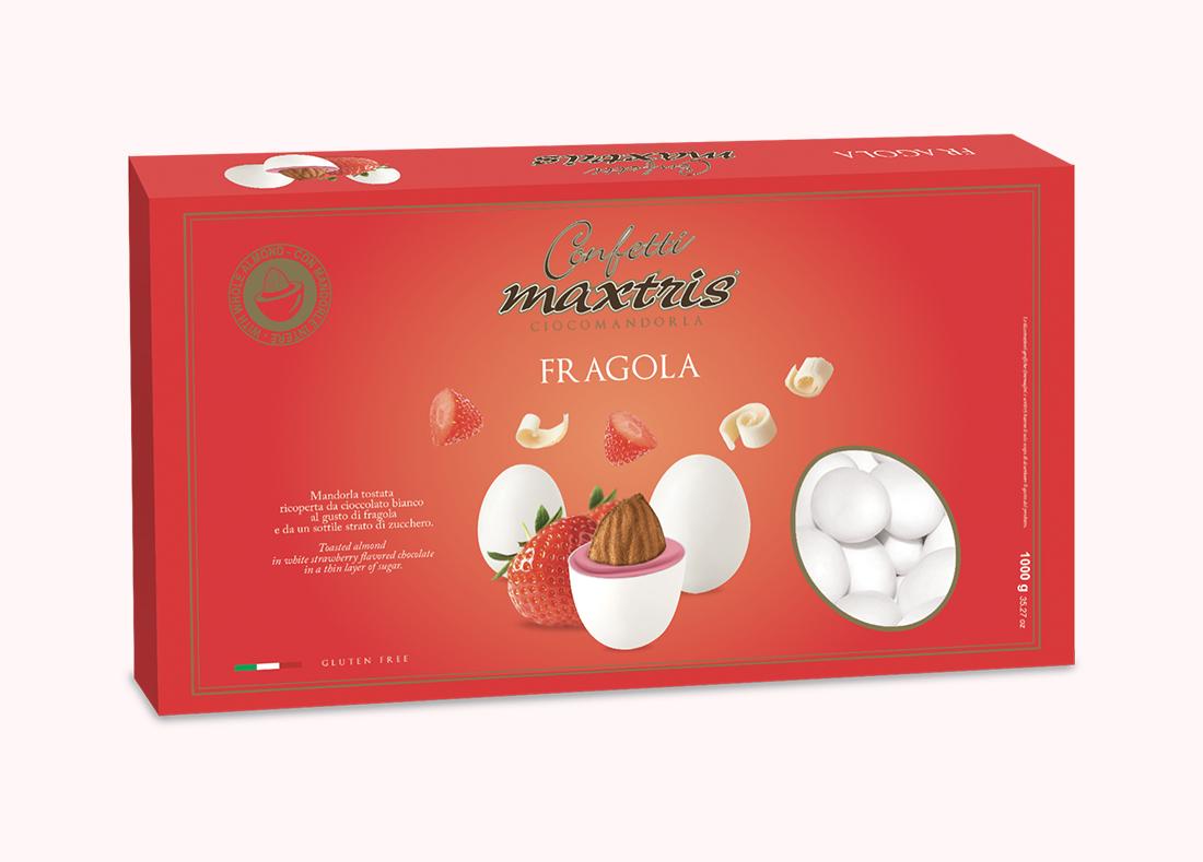 Strawberry Sugared Almonds