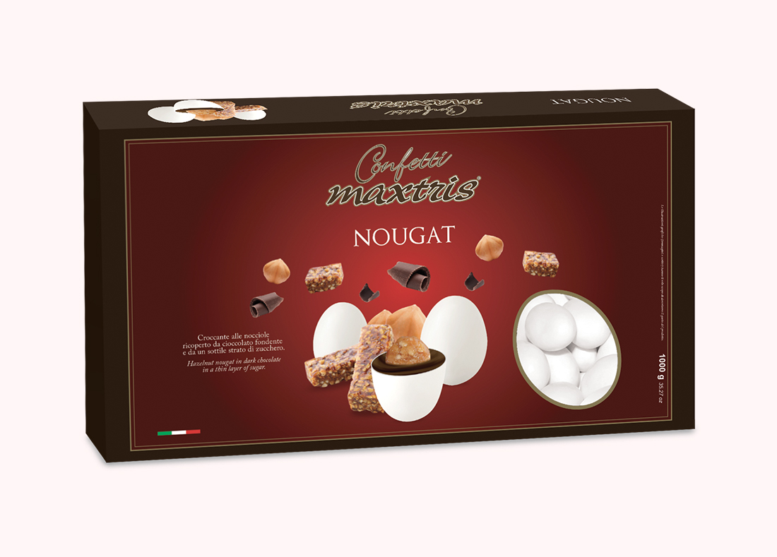 Nougat Sugared Almonds
