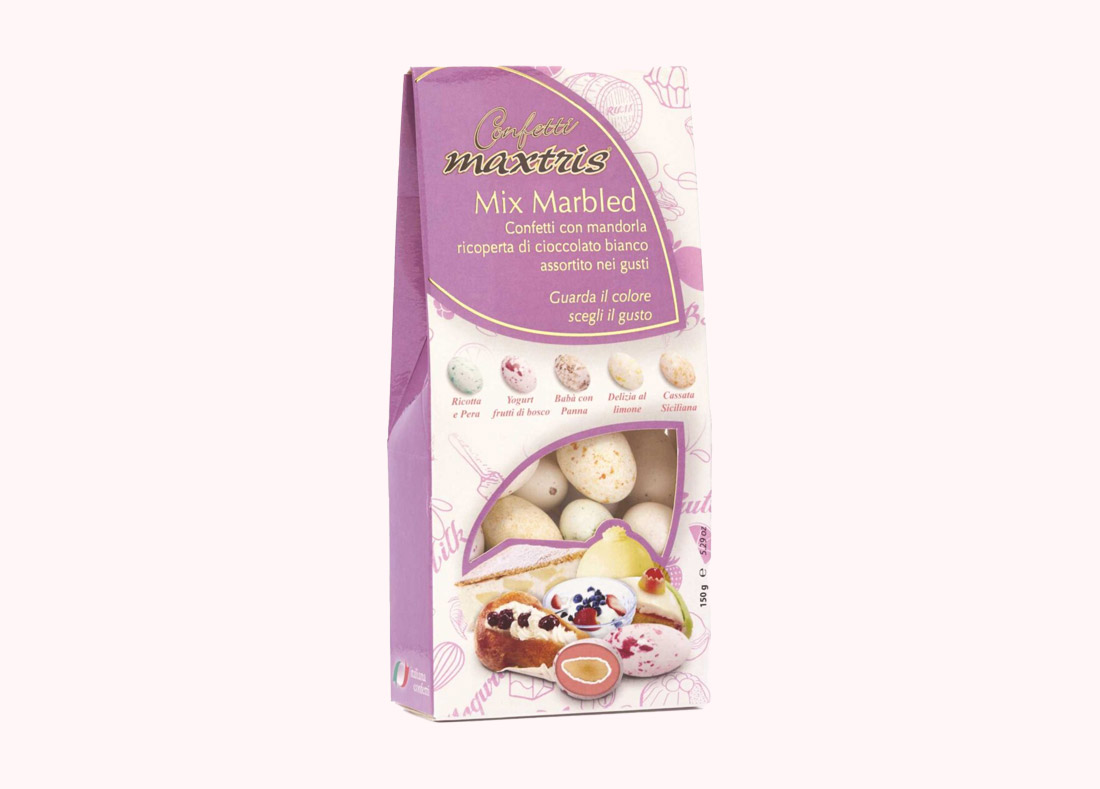 Mix Marbled Sugared Almonds