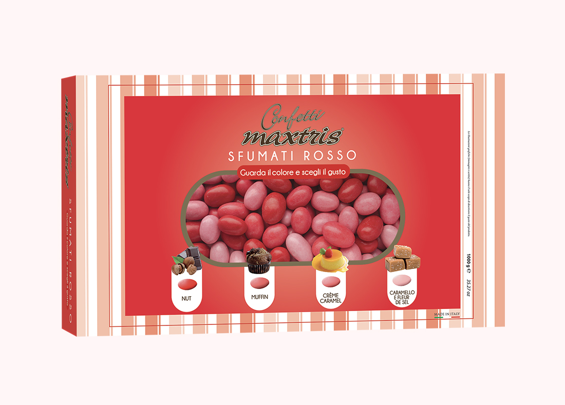 Red Sugared Almonds