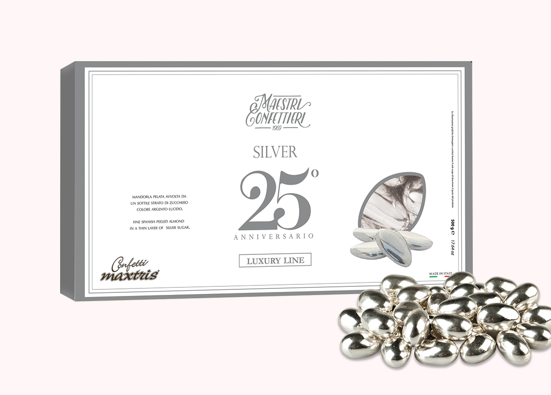 Silver Sugared Almonds